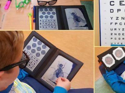 Badania przesiewowe wzroku w szkołach.